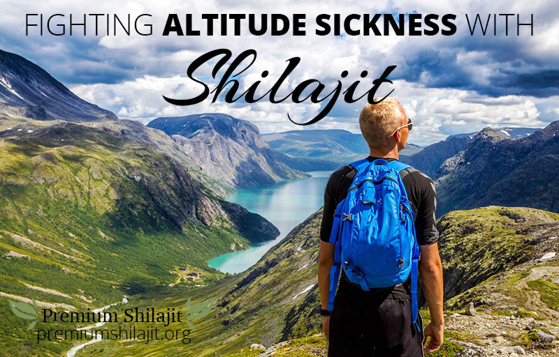 Image result for high altitude sickness with shilajit
